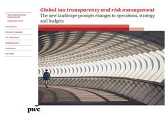 New tax landscape places major burdens on companies, says PwC report
