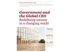 Call for public sector to redefine its purpose, collaborate with business to build growth, and measure success smarter