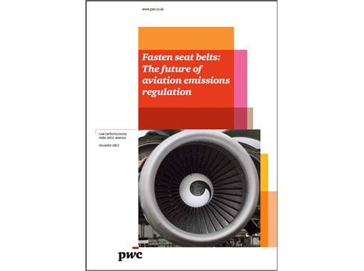 Governments and industry must work together to resolve aviation climate impasse - report cover image