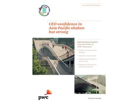 CEO confidence in Asia Pacific shaken but strong