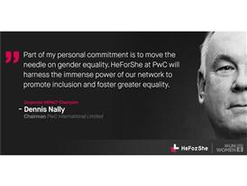HeForShe -- Dennis Nally, Chairman PwC International Limited