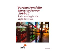 Foreign Portfolio Investor Survey 2016-17: India moving in the right direction