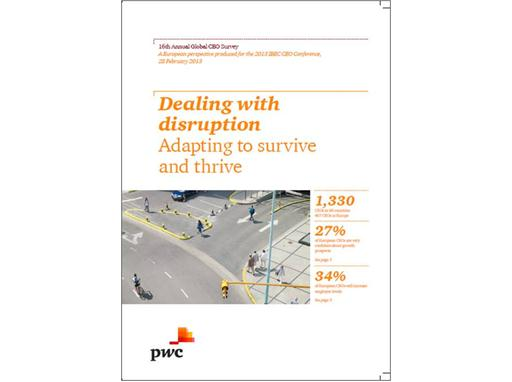 Dealing with Disruption European Perspective Cover