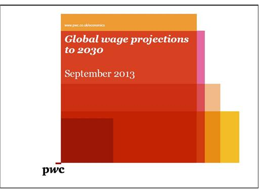Global wage projections to 2030