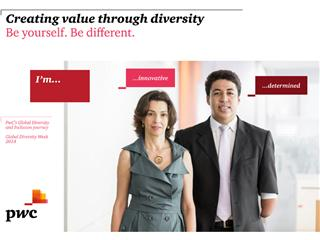 Global Diversity Week 2014: PwC Celebrates the Scale and Diversity of its Network