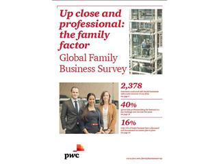 PwC family business survey shows need to 'professionalise' the family as well as the business