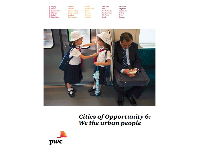 Cities of opportunity 6: We, the urban people