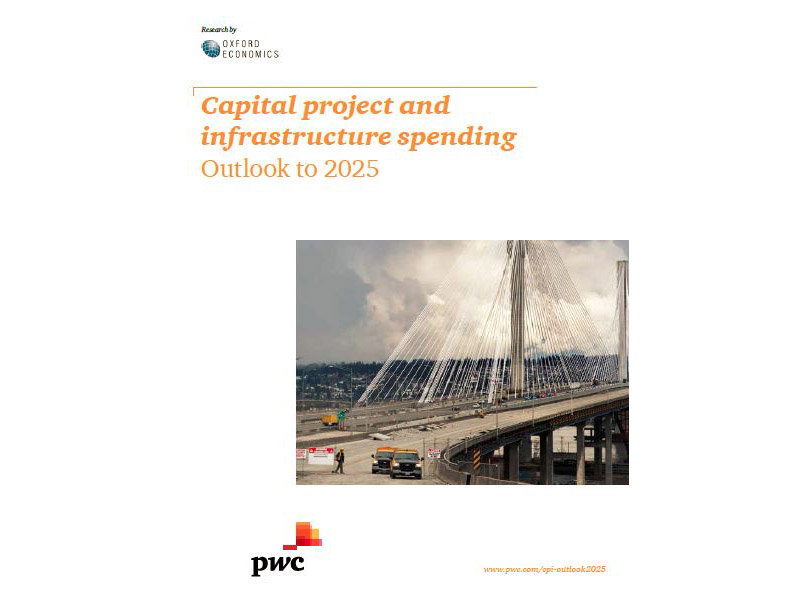 Capital project and infrastructure spending: Outlook to 2025 cover