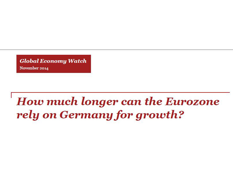 How much longer can the Eurozone rely on Germany for growth?