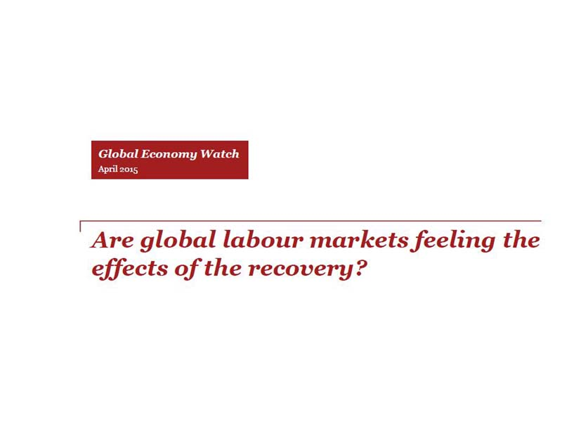 Are global labour markets feeling the effects of the recovery