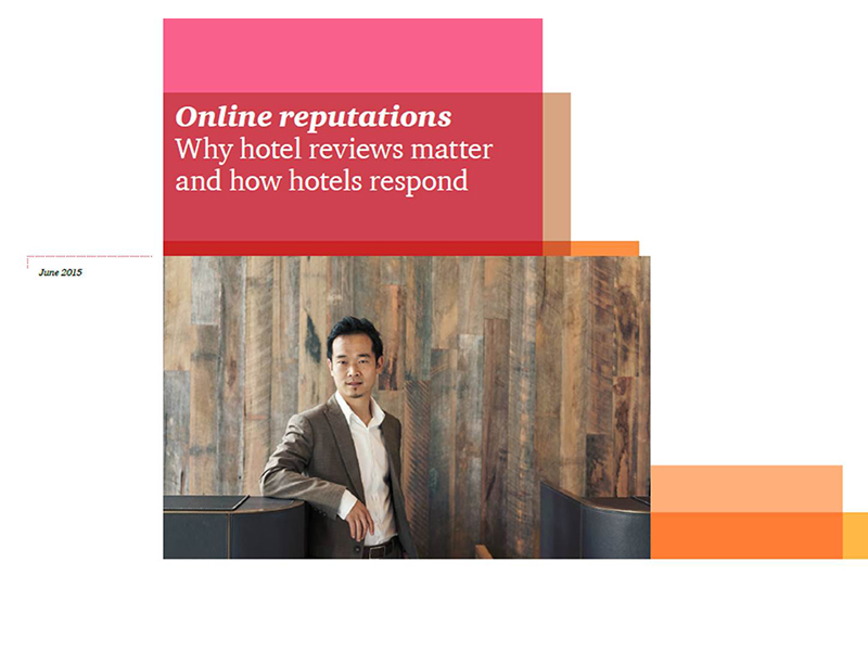 Online reputations -- why hotel reviews matter and how hotels respond