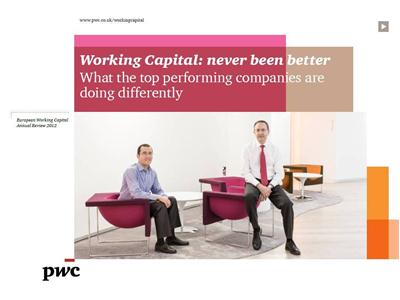 Working capital management in Europe has never been better, and UK remains top – PwC study