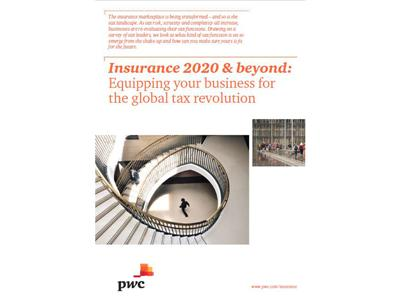 Sixty-four per cent of Insurance CEOs see increasing tax burden as a threat to their growth prospects