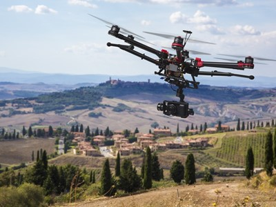 Global Market for Commercial Applications of Drone Technology Valued at over $127 bn