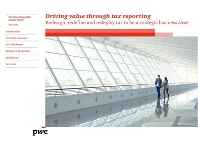 Driving value through tax reporting