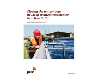 Government intervention and private sector engagement in waste water reuse critical to solving the urban water crisis