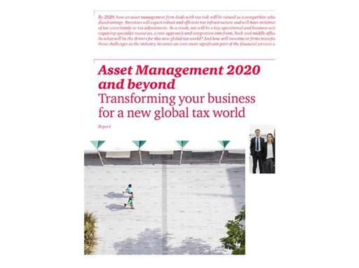 Asset Management 2020 and beyond