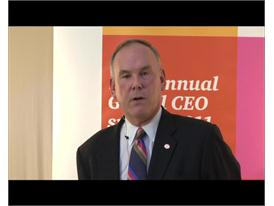 Dennis Nally, Chairman, PwC International - Answers questions from journalists at the 2011 World Economic Forum