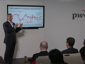 PwC launches 20th Global CEO Survey results in Davos, Switzerland