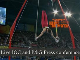 P&G and IOC Press Conference at Winter Youth Olympics - Webcast