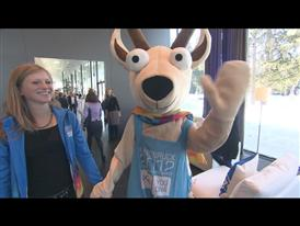 YOCOG Mascot, Yoggl