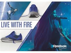 Reebok Classic Live With Fire Campaign Fall/Winter 2013