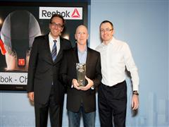 "Reebok - Checklight. WINNER ""Best New Product"" at the 2014 Corporate Entrepreneur Awards"