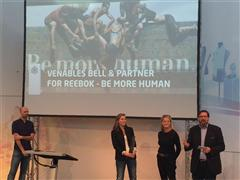 """Reebok Adds Another Trophy to its """"Be More Human"""" Campaign Collection with 2016 ISPO Award"""