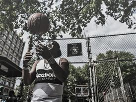 Cam'ron Hits the Blacktop in NYC 7