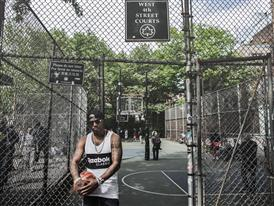 Cam'ron Hits the Blacktop in NYC 10