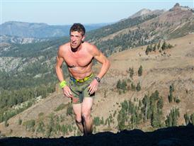 """Matt """"Bear"""" Novakovich tackles the course"""