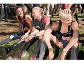 Top three female finishers