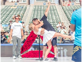 'It's a Nice Day for a WOD Wedding;' Reebok Makes CrossFit Couple's Dream Come True