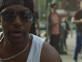 Cam'ron hits the Blacktop in NYC