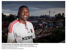 The Rolex Awards For Enterprise, Aggrey Otieno, Kenya, 2012 Laureate