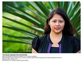 The Rolex Awards for Enterprise, Maritza Morales Casanova, Mexico, 2012 Young Laureate