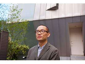 Chinese architect Yang Zhao is the first protégé in the Rolex Arts Initiative's architecture discipline. He is pictured