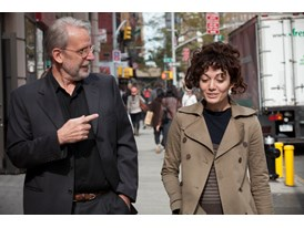 Walter Murch and Sara Fgaier in Manhattan, New York.