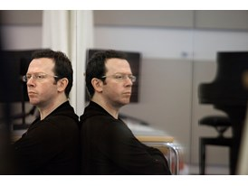 At the Chris Hellman Center for Dance in San Francisco, mentor Alexei Ratmansky watches a ballet choreographed by protég