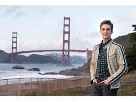 Protégé Myles Thatcher in San Francisco, where he has danced with the San Francisco Ballet since 2010.