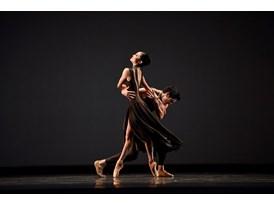 "Dancers Norika Matsuyama and Steven Morse perform protégé Myles Thatcher's ballet ""Manifesto"", which premiered in San Fr"