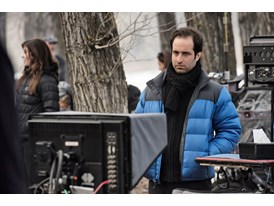 "Protégé Tom Shoval on location in Alberta, Canada, for Alejandro González Iñárritu's new film, ""The Revenant""."