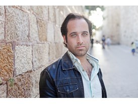 Young Israeli film director and Rolex protégé Tom Shoval near Zion Gate, an ancient entry to Jerusalem's Old City.