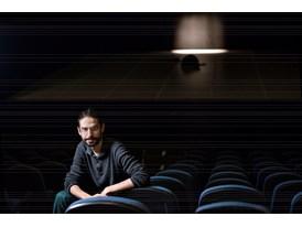 Protégé Sebastián Solórzano Rodríguez in the Teatro de la danza in Mexico City's Centro Cultural del Bosque.