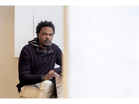 Protégé Sammy Baloji in Berlin, the city where his mentor Olafur Eliasson is based.