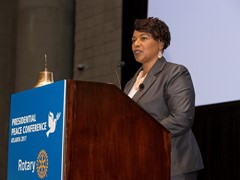 Rotary explores solutions to the root causes of conflict