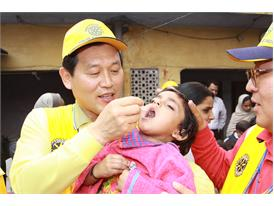 Rotary announces US$35 million in additional funds to end polio worldwide