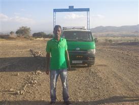 Temesgen Adamu of Ethiopia