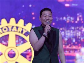 PSY performs at Rotary International Convention
