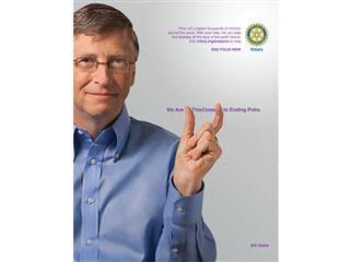 """Rotary Is """"This Close"""" to Achieving Its Goal of a Polio-free World"""